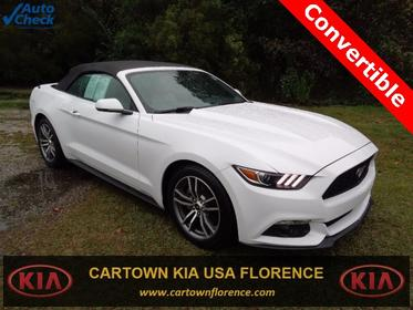 2017 Ford Mustang ECOBOOST PREMIUM Convertible Florence SC