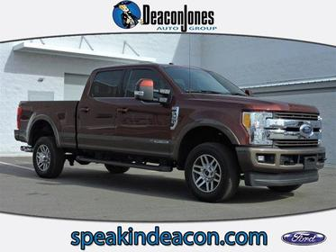 2017 Ford Super Duty F-350 SRW KING RANCH 4WD CREW CAB 6.75' BOX Greenville NC