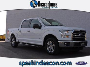 "2015 Ford F-150 2WD SUPERCREW 145"" XLT Greenville NC"