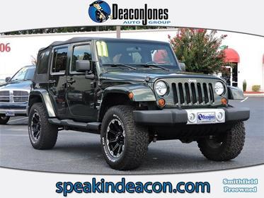 2011 Jeep Wrangler Unlimited SAHARA Convertible  NC