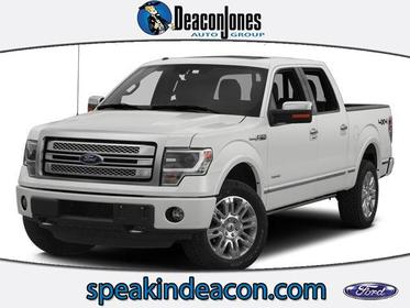 "2014 Ford F-150 4WD SUPERCREW 145"" PLATINUM Greenville NC"