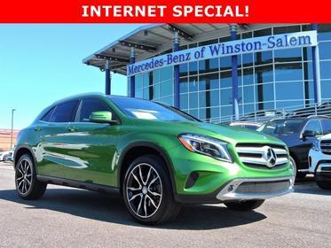 2017 Mercedes-Benz GLA GLA 250 Sport Utility Winston-Salem NC