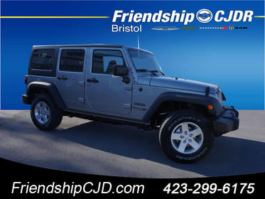Similar Vehicles. 2018 Jeep Wrangler Unlimited SPORT 4x4 Sport 4dr SUV  Bristol TN