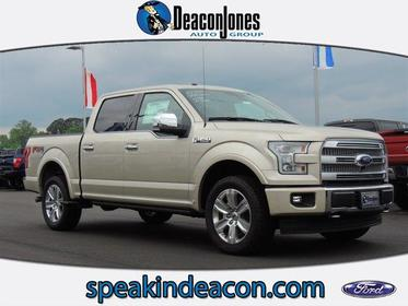2017 Ford F-150 PLATINUM 4WD SUPERCREW 5.5' BOX Goldsboro NC