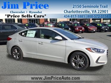 2018 Hyundai Elantra SEL 4dr Car Charlottesville VA