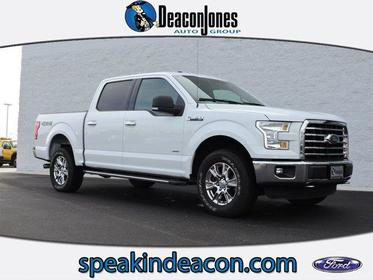 "2015 Ford F-150 4WD SUPERCREW 145"" XLT Greenville NC"