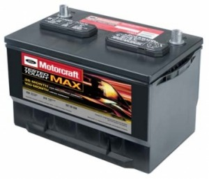 MOTORCRAFT® TESTED TOUGH® MAX BATTERIES