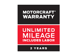 MOTORCRAFT® WARRANTY: TWO YEARS. UNLIMITED MILEAGE. INCLUDES LABOR.*