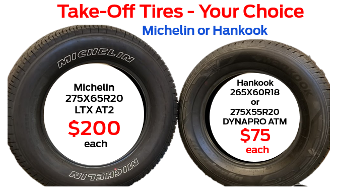 Great Tires at a Great Price