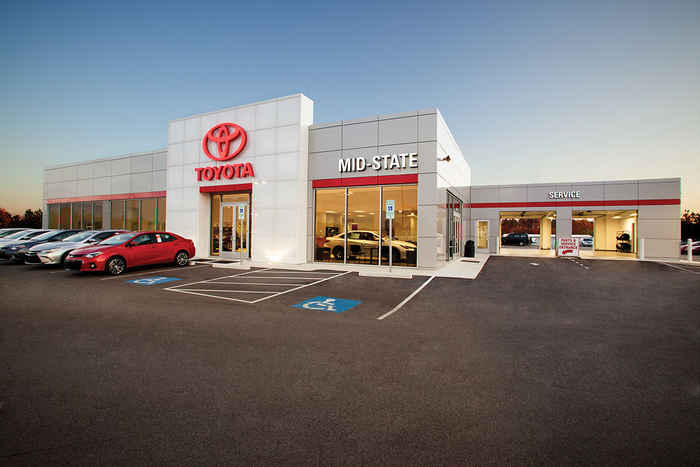 MidState Toyota Storefront