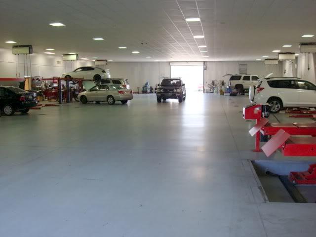 Valdosta Toyota Service Department