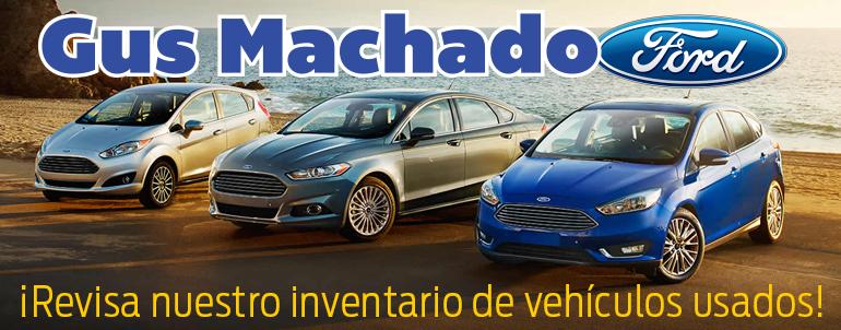 Gus Machado Ford Kendall >> Carros Pre Usados En Gus Machado Ford Gus Machado Ford Of
