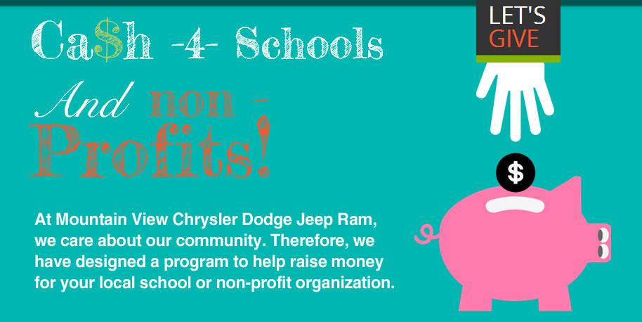 Cash for Schools