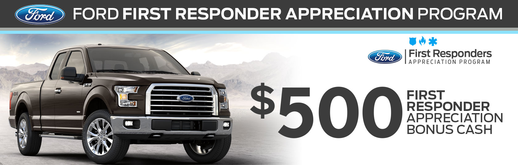 first responder 39 s appreciation program university ford. Cars Review. Best American Auto & Cars Review