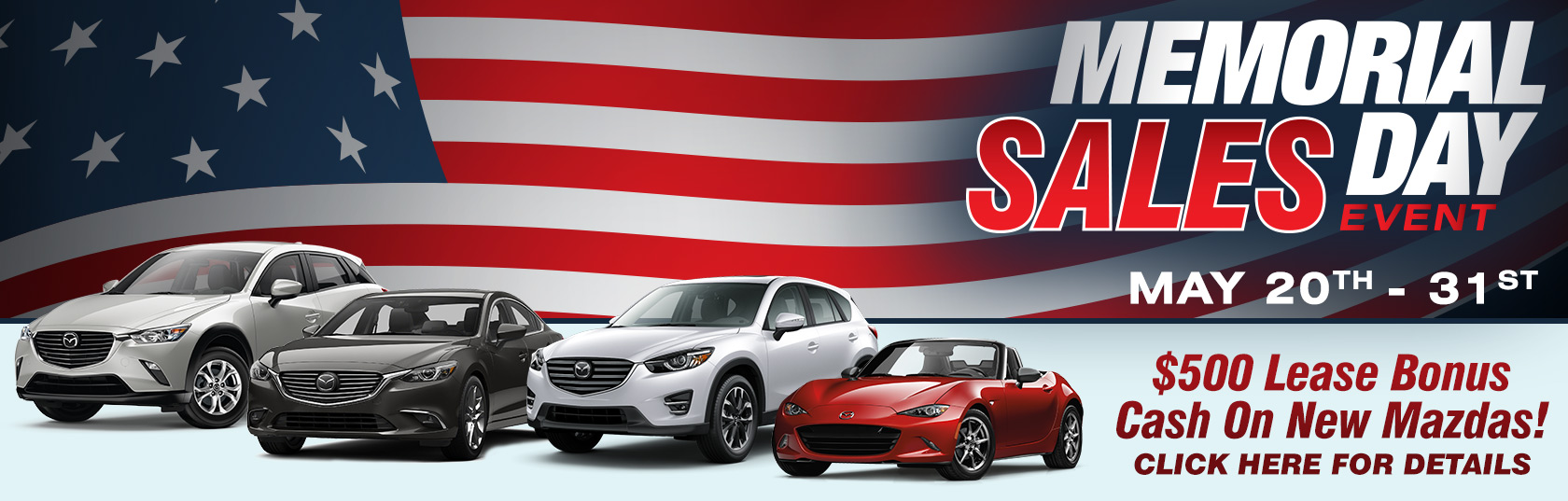 Memorial Day Sale 2016 | Crystal Mazda