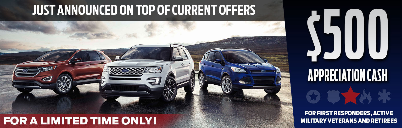 This exclusive offer is good toward the purchase or lease of an eligible new Ford vehicle at Mooresville Ford. Fill out the form below for more information. & Military Program | Mooresville Ford | Serving Charlotte ... markmcfarlin.com