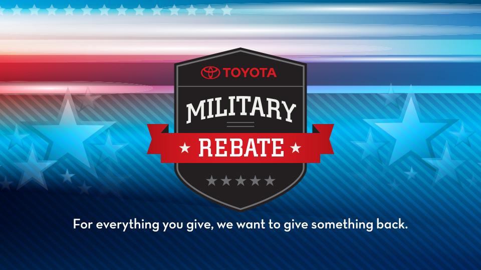 Toyota Military Program