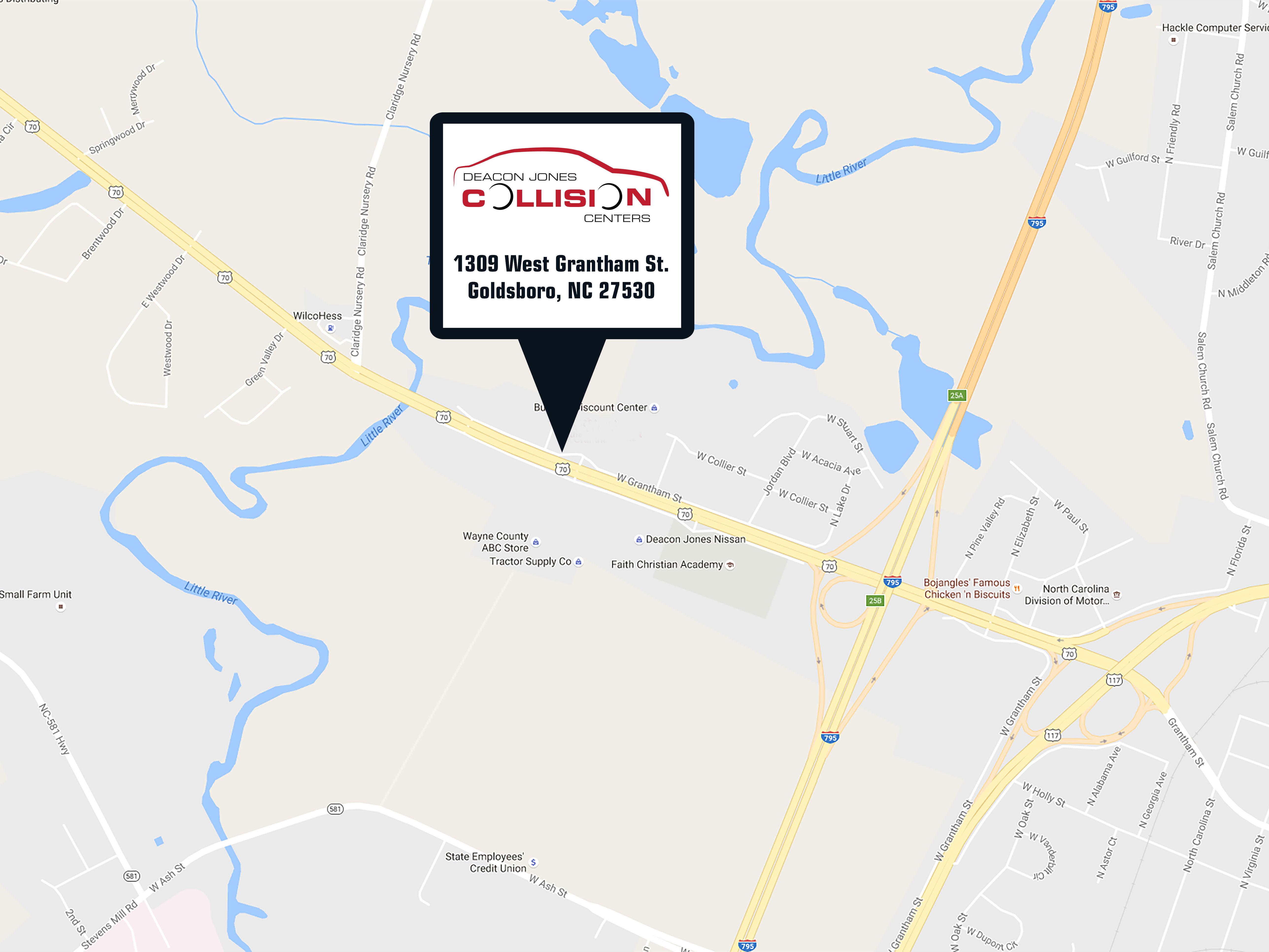 About Our Collision Center & Deacon Jones Collision Center | Goldsboro NC