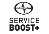 scion service boost plus logo