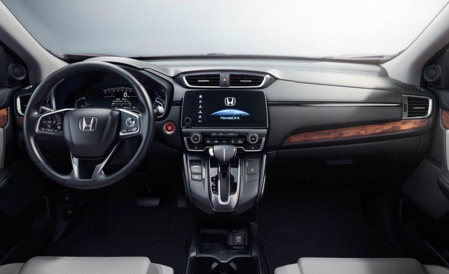 2017 CR-V interior
