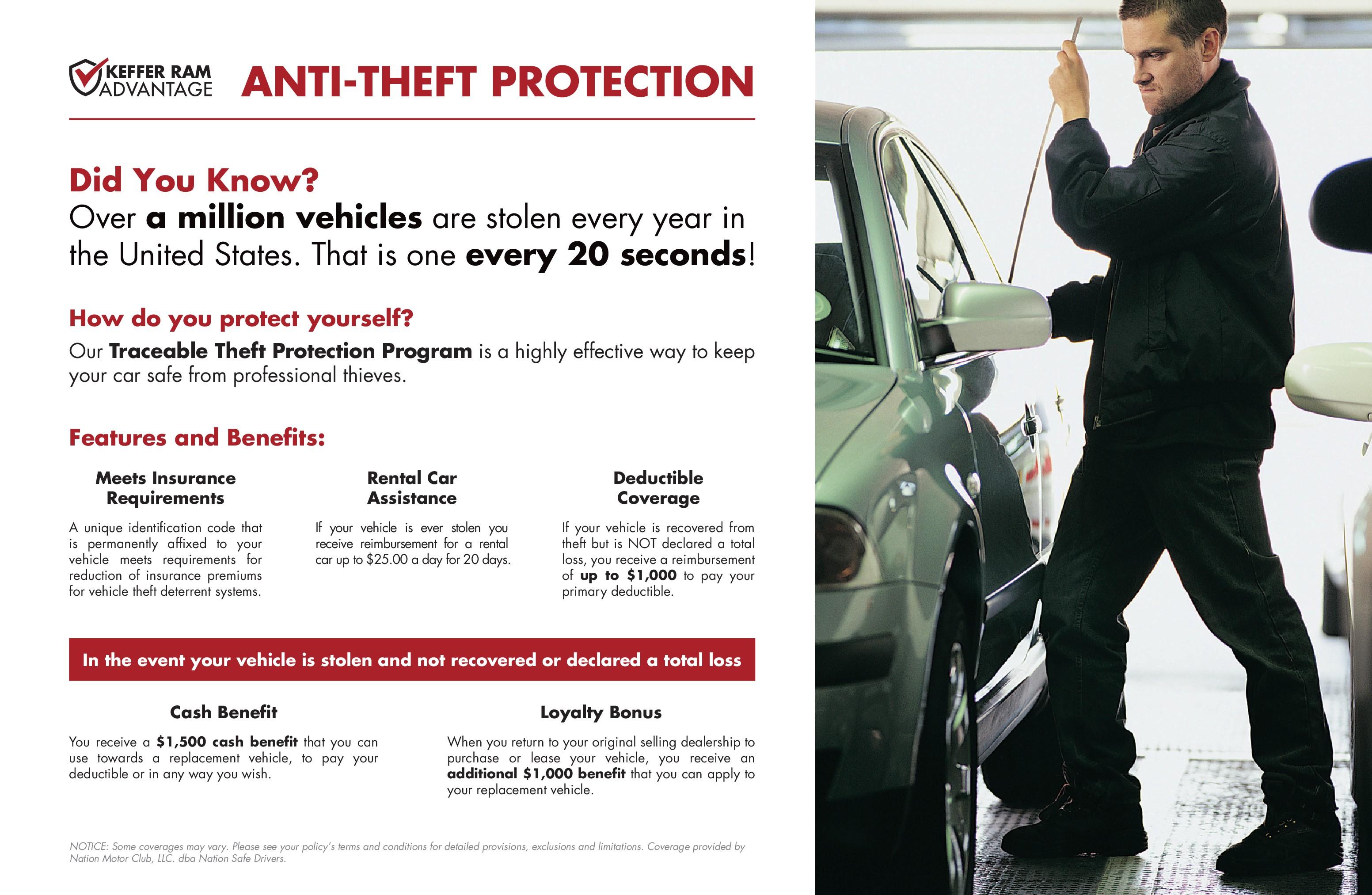 equi-pro vehicle theft deterrent system
