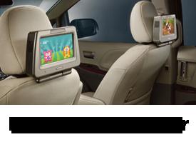 Rear Seat DVD Player