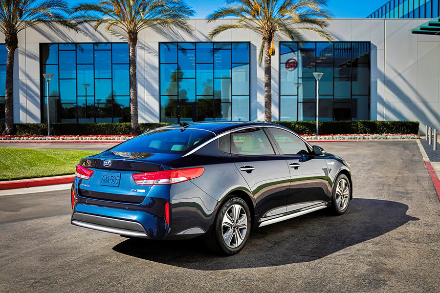 New Kia Optima Hybrid in Durham