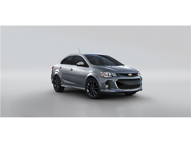 2017 Chevrolet Sonic Red Springs