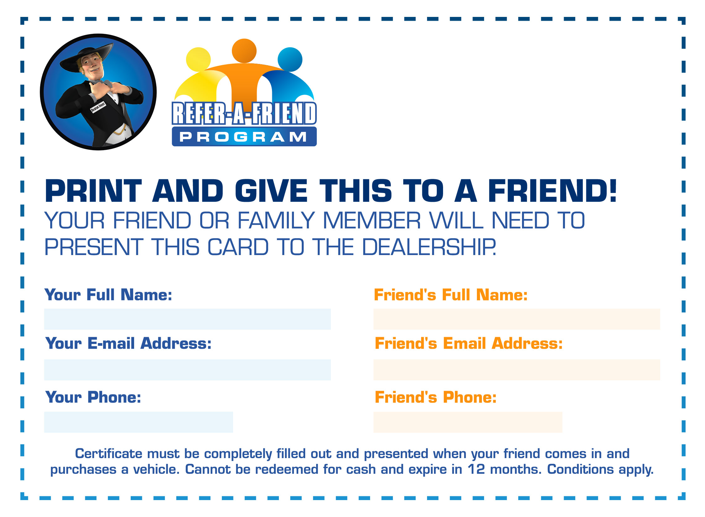 Refer-A-Friend Coupon