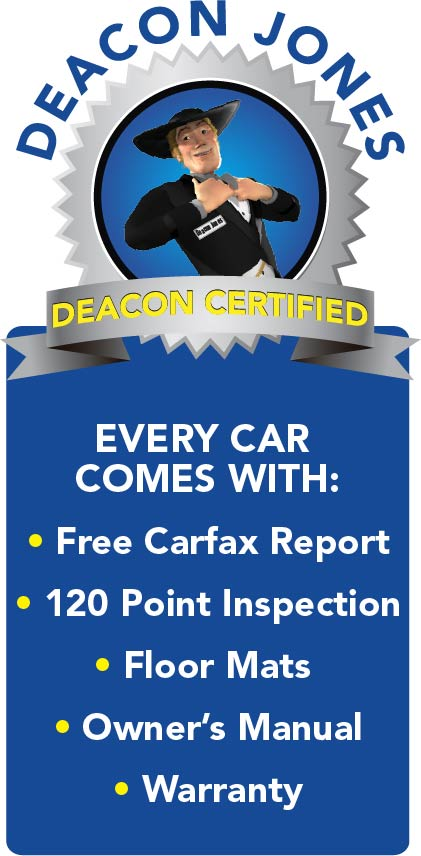 Deacon Jones Certified