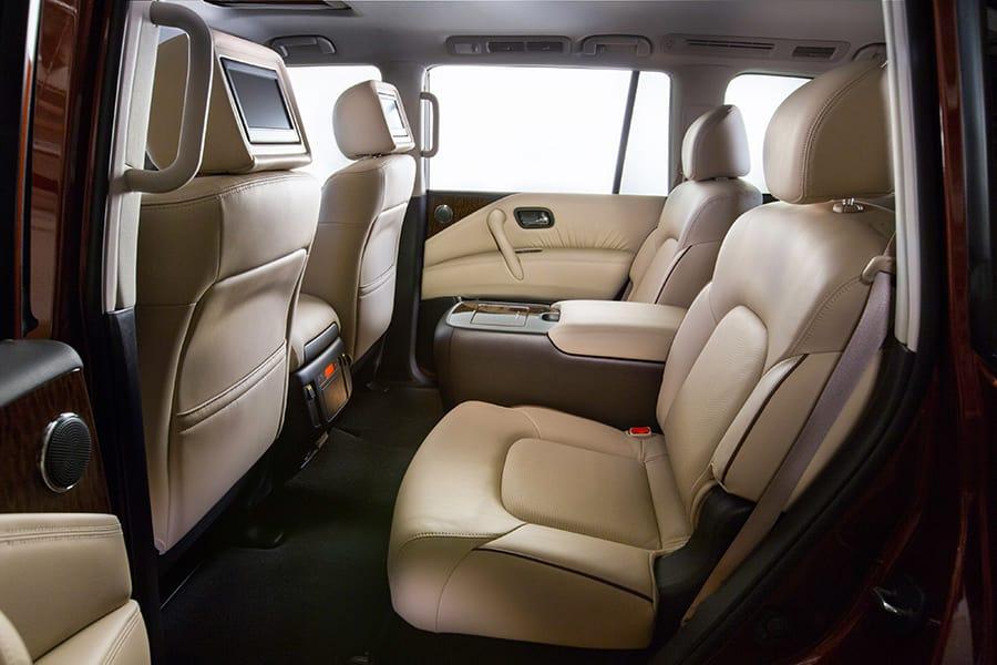 2017 Nissan Armada Back Seat