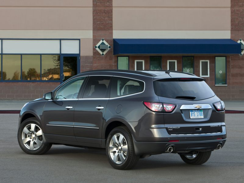 2017 Chevrolet Traverse Exterior