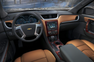 2017 Chevrolet Traverse Interior