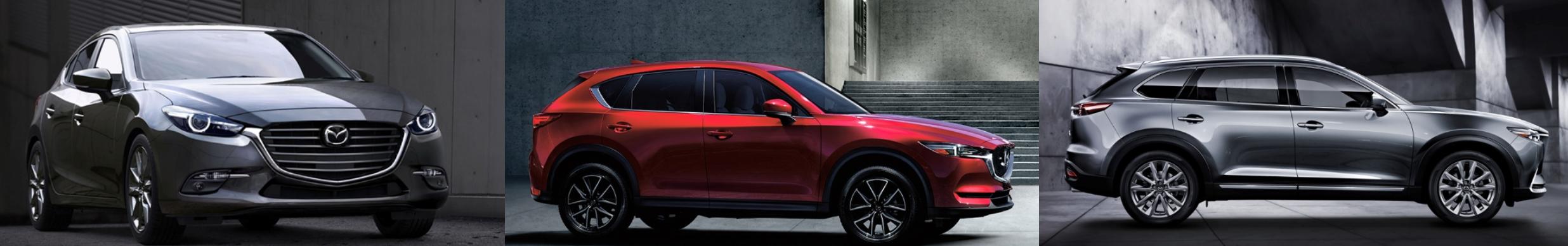 2017 Mazda Lineup