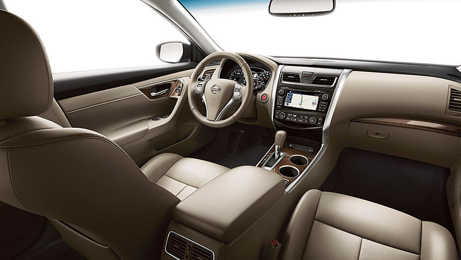 2017 Nissan Altima Interior >> When Style Meets Function 2017 Nissan Altima