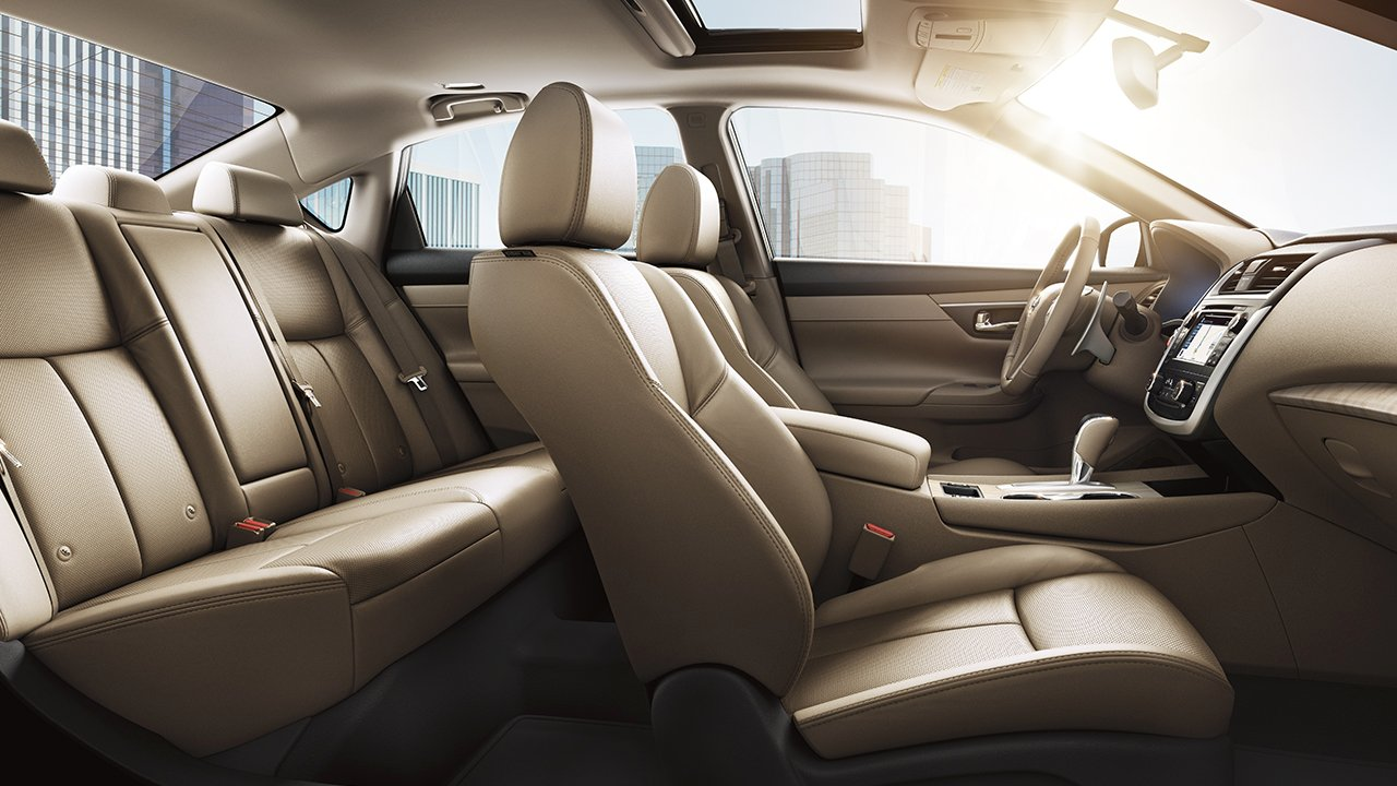 2017 Nissan Altima Back Seat