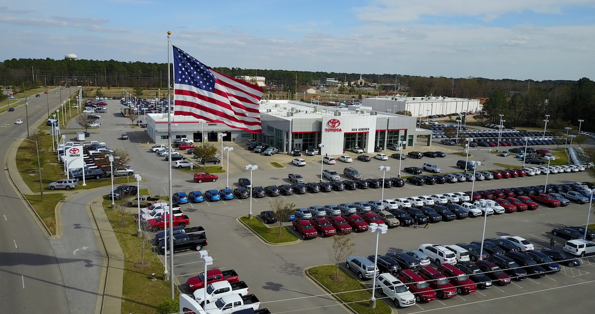 Toyota Fayetteville Nc >> Our Dealership Rick Hendrick Toyota Of Fayetteville Serving