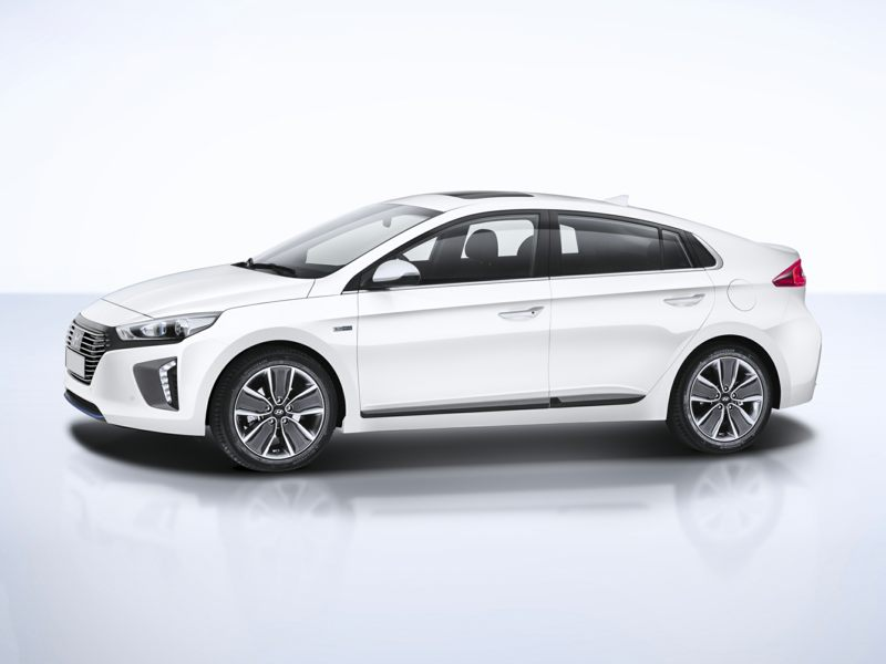 Efficient And Eye Catching 2017 Hyundai Ioniq Hybrid In Greensboro Nc