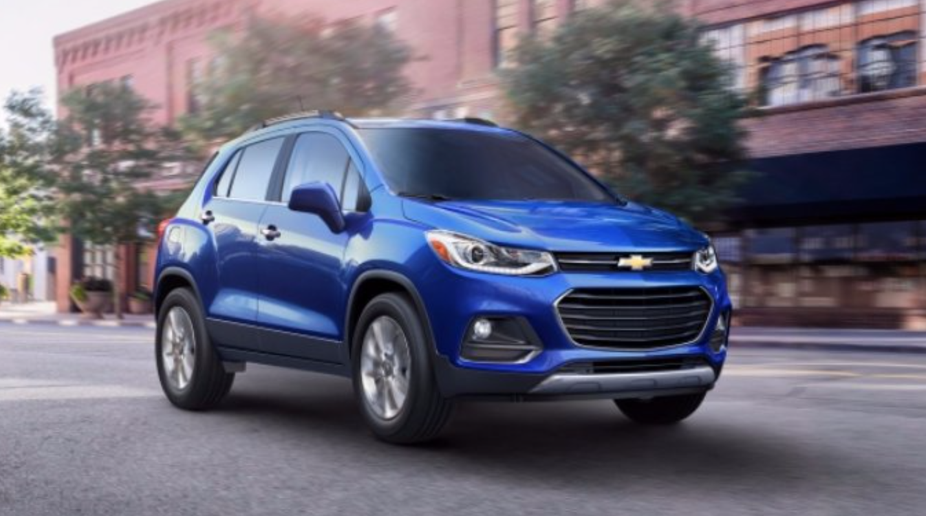 2017 Chevrolet Trax Exterior Front