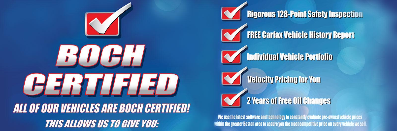 Boch Certified