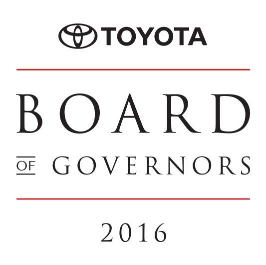 2016 Board of Governors Award NTH