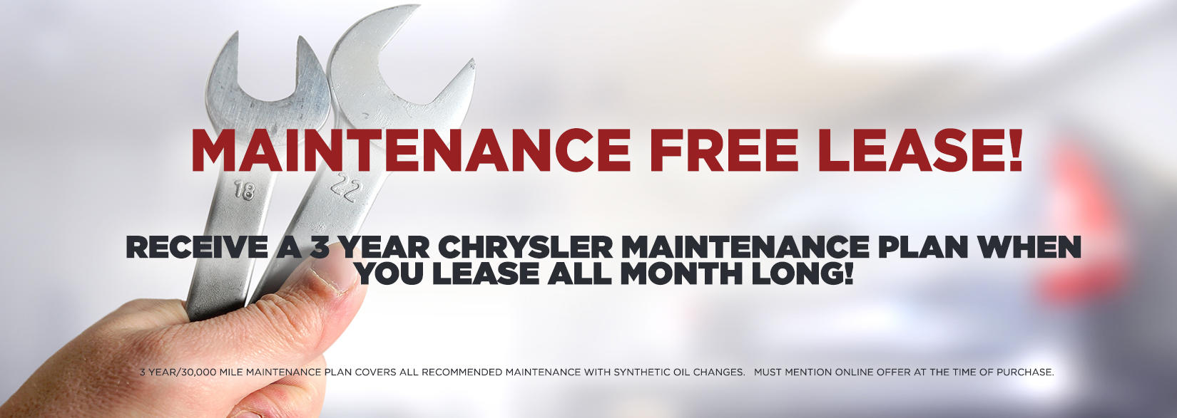 Maintenance Free Lease
